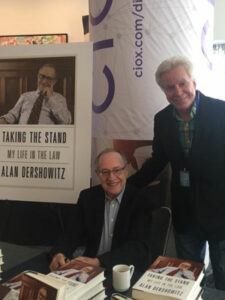 Attorney Lewis Small and Alan Dershowitz