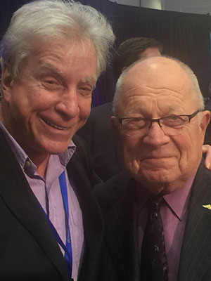 Attorney Lewis with F. Lee Bailey (O.J. Simpson's attorney)